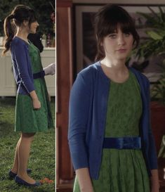 "One of the cutest outfits EVER in the history of the universe. (also, check out the website, it's called ""What would Zooey Deschanel wear?)"