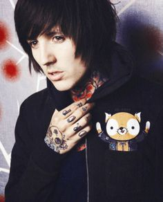 Oli #BMTH <3 ugh he is just unf <333