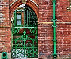 irish doors | Green Gate of Ireland
