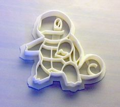 Pokemon Squirtle Cookie Cutter. $4.50, via Etsy.