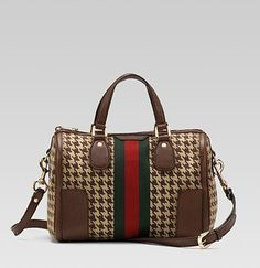 OMG! Just saw Bethany with this bag on Bravo. Houndstooth Gucci? Are you serious? Sick...and $1800.