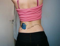 dory tattoo | katie bambrough dory tattoo birthday nemo finding nemo lower back