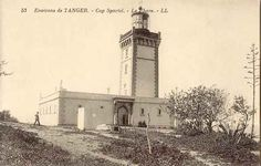 Lighthouse in Tangier