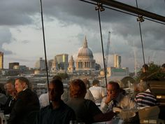 Bar & Resturant at the Oxo Tower. Fee, nearest Tube, Blackfriars or Southwark. By swguthrie on Panoramio.