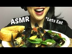 ASMR Mussels (EATING SOUNDS) NO TALKING | SAS-ASMR - YouTube