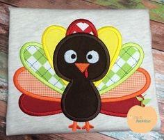 Turkey 2014 Applique Design