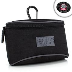 USA GEAR Compact Camera Case for Panasonic Lumix DMCZS60  DMCGF8  DMCZS50S  DMCZS100  DMCZS25 and More with Belt Loop  ImpactResistant Protective Nylon and Storage Pocket -- Be sure to check out this awesome product. This is Amazon affiliate link. #CameraBags