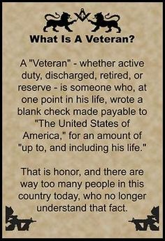 What is a veteran essay