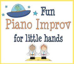 Fun Piano Improv for Little Hands
