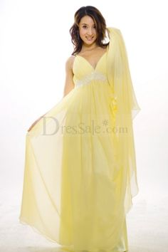 Sleeveless V-Neckline Slim Column Celebrities Evening Dresses