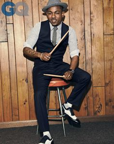GQ Magazine December 2013 Kendrick Lamar: Rapper of the...