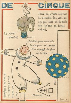 Vintage Circus From France
