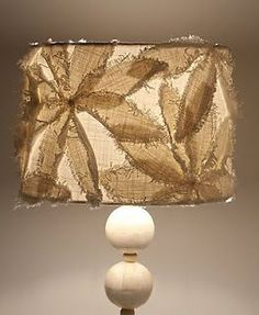 anthropologie lamp - This doesn't look hard to make.
