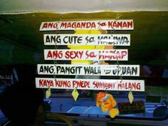 jeepney tags part 2 Patama Quotes, Jeepney, Pinoy, Public, Lol, Urban, Humor, Travel, Tags