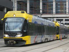 Light Rail. For trips to IKEA and Mall of America (greater Minneapolis-St.Paul)