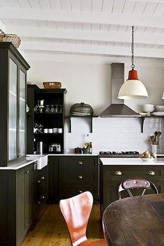 #Cocina en tonos verdes  #cocinas #kitchens
