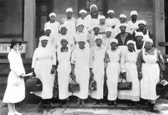 Georgia midwifes in the 1930's  #midwives #birth