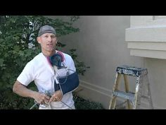 How to paint stucco on the exterior of a house