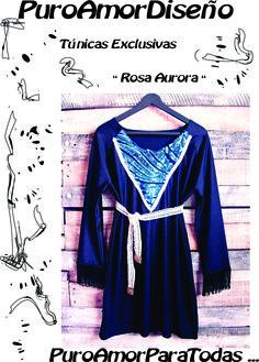 Túnicas + mini dress = Puro Amor Diseño  ♥