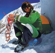 Reinhold Messner: Solo'd Everest. Walked across Antarctica. Four Yeti encounters.