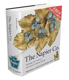 Napier Book 1000 pages with tons of info to help you collect & research Napier Jewelry. Pre-ordered this book, it is limited edition due out March 2013.