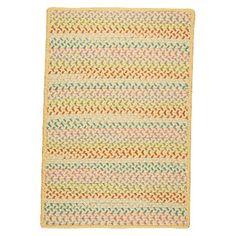 Color Craze Braided Area Rug(5'x7')