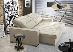 sofá 2 lugares com canto opcional