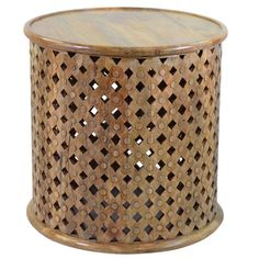 Found it at Wayfair - Teak End Table