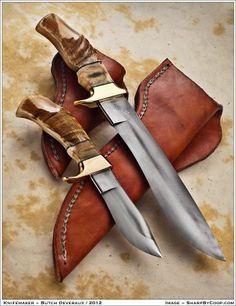 Knives I've Created - Butch Deveraux Custom Knives