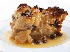 RUM RAISIN BREAD PUDDING RECIPE: Take a look at my recipe for an old fashioned rum raisin bread pudding with a delicious rum sauce.
