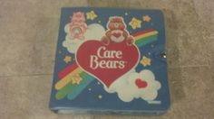 Care Bears 1980s Carrying Case and by LuckyYouVintageToys on Etsy, $20.00