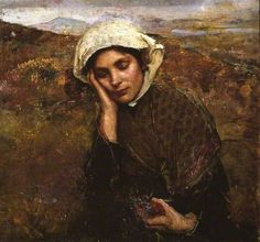 Your Paintings - Annie Louisa Swynnerton paintings....The Convalescent
