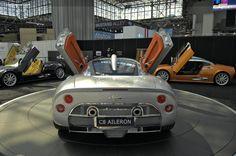 2009 Spyker C8 Aileron Imagen