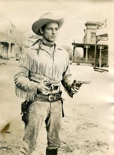 Actor Guy Madison On Western TV Wild Bill Hickok
