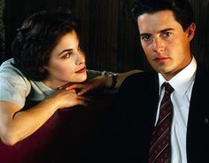 Twin Peaks - Audrey Horne (Sherilyn Fenn) and Agent Dale Cooper (Kyle MacLachlan)