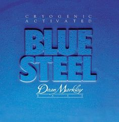 Dean Markley Blue Steel 4-String ML 2674 Bass Guitar Strings (.045-.105) by Dean Markley. $17.99. It's simply amazing what a little -320° liquid nitrogen can do to a guitar string. Put a set of Dean Markley Blue Steel strings on your bass and hear what all the excitement is about. Twice the tone and twice the life. Dean Markley's best-selling bass string.. Save 64% Off!