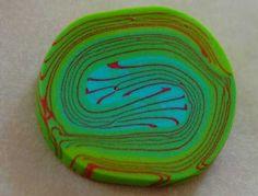 Colorblocking mit Fimo! Die perfekte Cane für bezaubernde Swirls und verwirrende Perlen. Fimocaneanleitung