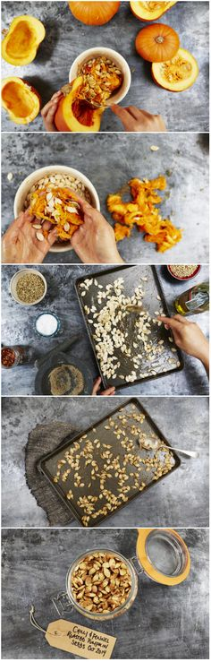 How to roast pumpkin seeds by Jamie Oliver