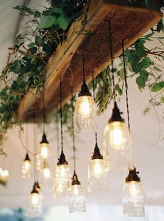 Rustic Industrial Lighting Fixtures Wood Beams New Ideas - All For Decoration Farmhouse Lighting, Rustic Lighting, Industrial Lighting, Rustic Industrial, Rustic Farmhouse, Lighting Ideas, Wedding Lighting, Lighting Design, Outdoor Lighting