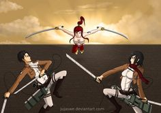Attack on Titania. The Survey Corps. is screwed.