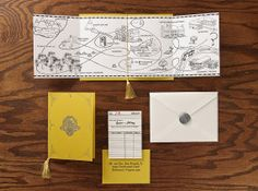 Fairytale Storybook Custom Wedding Invitation or by paperfreckles, $250.00