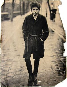 Photograph of The Day - Bob Dylan in Central Park, New York City, February 10, 1965 by Richard Avedon 2