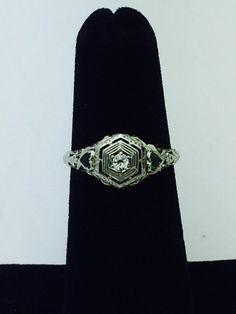 Antik und Vintage Diamant Verlobungsringe