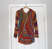 The Laughing Willow: My version of the pinwheel sweater.     //     There is also a version on Ravalry.