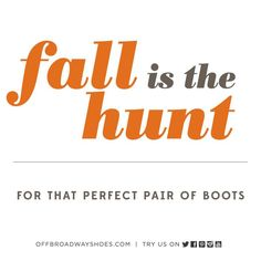 Social graphic for #OBSW Fall campaign