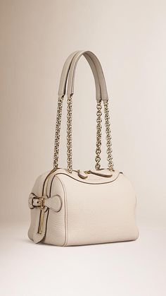Stone The Small Alchester in Grainy Leather with Chain Straps - Image 5