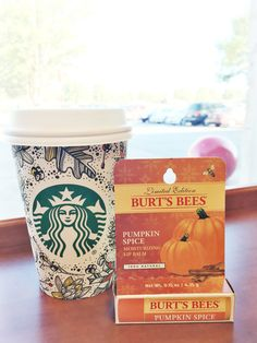 Pumpkin Spice & Everything Nice... Talking about Burt's Bees Pumpkin Spice Lip Balm available ONLY at Target on the blog today! #PumpkinSpice #PSLB #ad