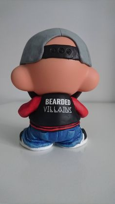Win Your Very Own Custom Kidrobot Munny BVUK Beardie by Ian Hancox