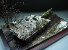 Dioramas and Vignettes: The Hunteress. Spring 1945, photo #20