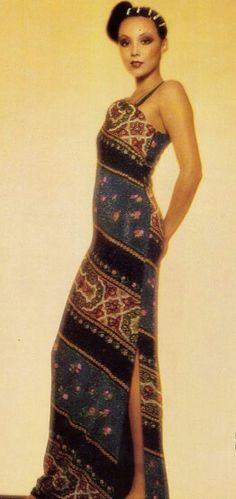Vogue Italia 1972 Marie Helvin by Barry Lategan